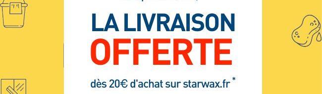 livraison offerte dès 20€ d'achat sur starwax.fr