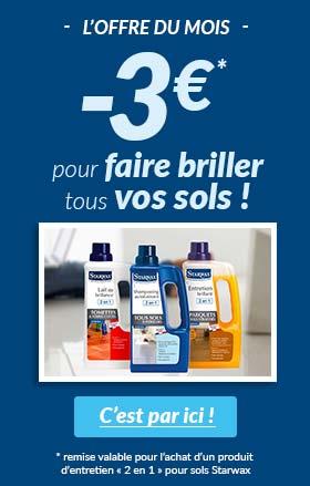 2€ de réduction par produit acheté