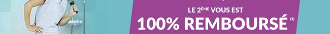le 2ème 100% remboursé