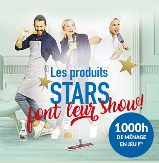 Les stars font leur show