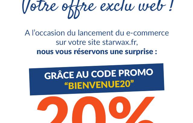 Votre offre de 30% de reduction sur votre premiere commande en ligne