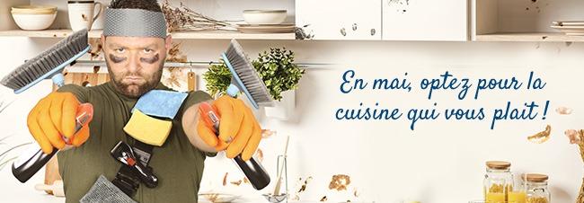 En mai, optez pour la cuisine qui vous plait !