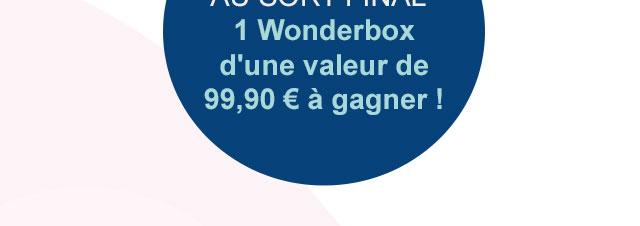 1 wonderbox de 99,99euros