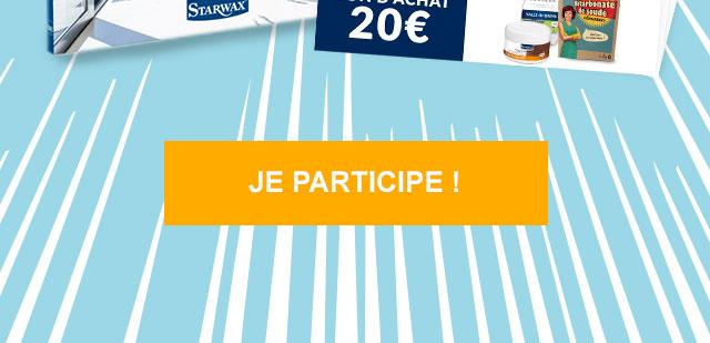 valable sur le site starwax.fr