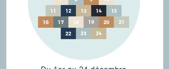 Du 1er au 24 décembre